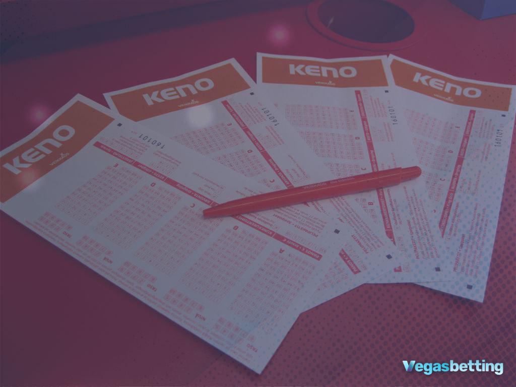 how to play keno las vegas