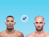 Edson Barboza vs. Giga Chikadze UFC picks