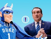 Mike Krzyzewski and the Duke Blue Devils