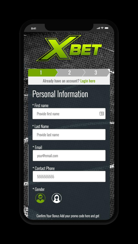 Xbet Account Screen
